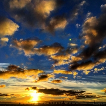 Danny Touw Photographs Stockholm Sunsets Series 1 - 10
