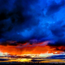 Danny Touw Photographs Stockholm Sunsets Series 1 - 11