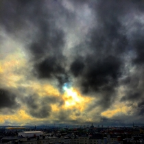 Danny Touw Photographs Stockholm Sunsets Series 1 - 12