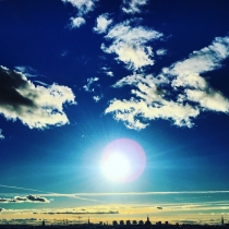 Danny Touw Photographs Stockholm Sunsets Series 1 - 14