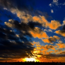 Danny Touw Photographs Stockholm Sunsets Series 1 - 15