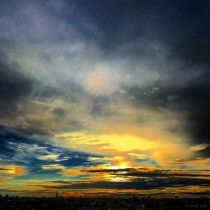 Danny Touw Photographs Stockholm Sunsets Series 1 - 18