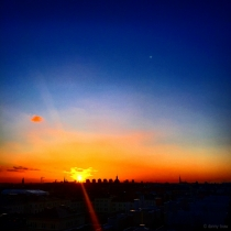 Danny Touw Photographs Stockholm Sunsets Series 1 - 19