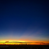 Danny Touw Photographs Stockholm Sunsets Series 1 - 2