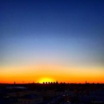 Danny Touw Photographs Stockholm Sunsets Series 1 - 20