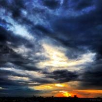 Danny Touw Photographs Stockholm Sunsets Series 1 - 21