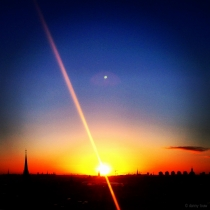Danny Touw Photographs Stockholm Sunsets Series 1 - 23