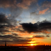 Danny Touw Photographs Stockholm Sunsets Series 1 - 24