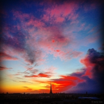 Danny Touw Photographs Stockholm Sunsets Series 1 - 26
