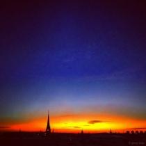 Danny Touw Photographs Stockholm Sunsets Series 1 - 27
