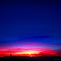 Danny Touw Photographs Stockholm Sunsets Series 1 - 28