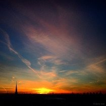 Danny Touw Photographs Stockholm Sunsets Series 1 - 29