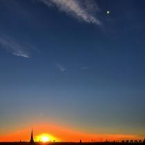 Danny Touw Photographs Stockholm Sunsets Series 1 - 3