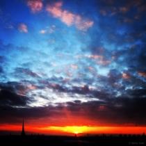 Danny Touw Photographs Stockholm Sunsets Series 1 - 30