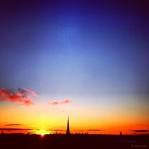 Danny Touw Photographs Stockholm Sunsets Series 1 - 31