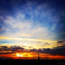 Danny Touw Photographs Stockholm Sunsets Series 1 - 33