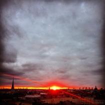 Danny Touw Photographs Stockholm Sunsets Series 1 - 34