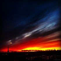 Danny Touw Photographs Stockholm Sunsets Series 1 - 35