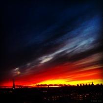 Danny Touw Photographs Stockholm Sunsets Series 1 - 35