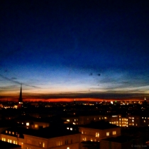 Danny Touw Photographs Stockholm Sunsets Series 1 - 36