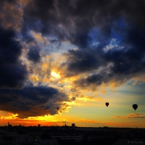 Danny Touw Photographs Stockholm Sunsets Series 1 - 37