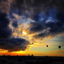 Danny Touw Photographs Stockholm Sunsets Series 1 - 37