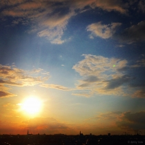 Danny Touw Photographs Stockholm Sunsets Series 1 - 38