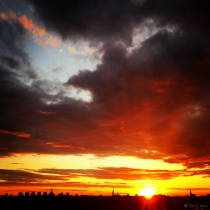 Danny Touw Photographs Stockholm Sunsets Series 1 - 39