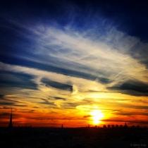 Danny Touw Photographs Stockholm Sunsets Series 1 - 40