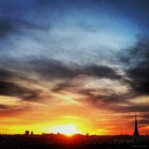 Danny Touw Photographs Stockholm Sunsets Series 1 - 41