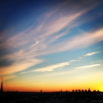 Danny Touw Photographs Stockholm Sunsets Series 1 - 42