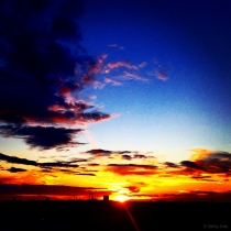 Danny Touw Photographs Stockholm Sunsets Series 1 - 43