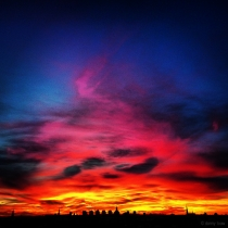 Danny Touw Photographs Stockholm Sunsets Series 1 - 47