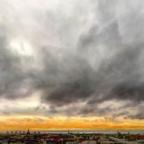 Danny Touw Photographs Stockholm Sunsets Series 1 - 6