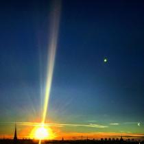 Danny Touw Photographs Stockholm Sunsets Series 1 - 7