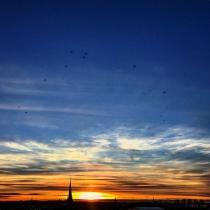 Danny Touw Photographs Stockholm Sunsets Series 1 - 8