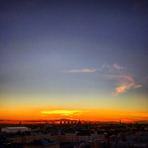 Danny Touw Photographs Stockholm Sunsets Series 1 - 9