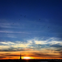 Danny Touw Photographs Stockholm Sunsets Series 1 - 8