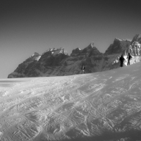 Danny Touw Photographs The White Stuff Portes du Soleil 15